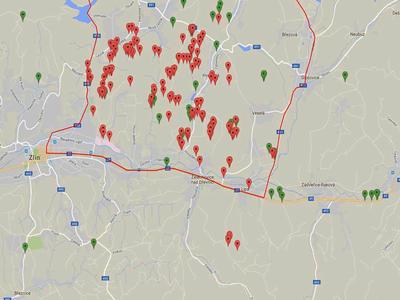 AMP na Zlínsku poprvé potvrzen mimo ohradníky v rizikové oblasti!