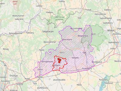 Další případy výskytu AMP v Maďarsku
