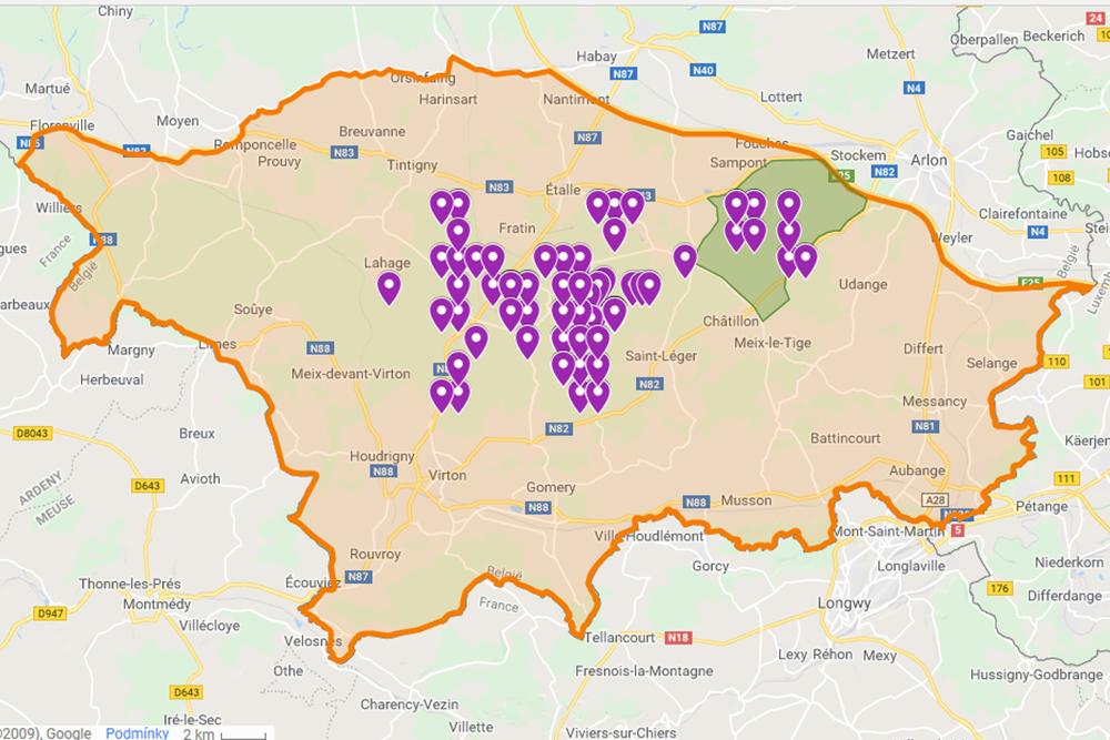 Aktuální nákazová situace AMP v Belgii
