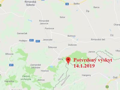 AMP na maďarsko-slovenské hranici