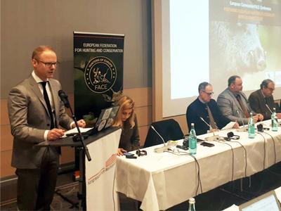 Konference FACE připravuje evropské myslivce na vymýcení AMP